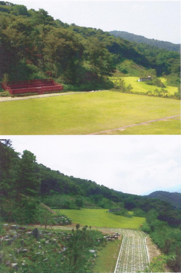 현재 조성중인 『언양 청소년 야영장』 모습입니다(2)